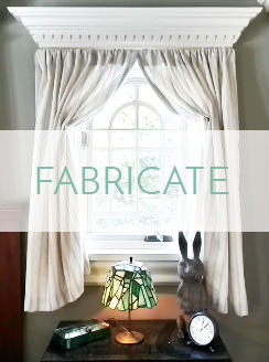 Custom Textiles fabricated window treatment