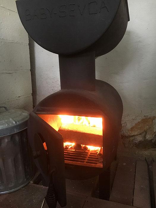 SEVCA wood stove
